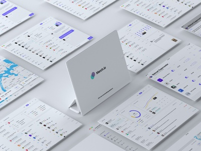 Merch.io - App and Website chat maps agents stores merchandising platform ipad tablet statics dashboad admin panel adobe xd