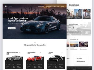 Drive Luxury website