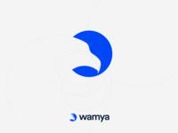 Wamya: Hawk golden ratio logo