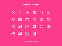 Freebie - Iconset by Max Thunberg