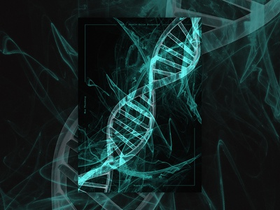 Science Posters - DNA (Photo Composition) effects photocomp scientific posters photoshop composition photo posterdesign poster science dna