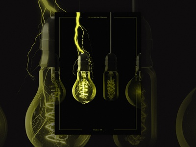 Science Posters - Alternating Current (Photo Composition) photocomp scientific posters photoshop composition photo posterdesign poster science tesla electricity