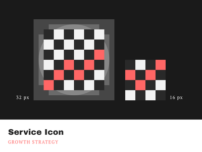 Service Icons - Growth Strategy cleandesign minimalistic simple pixelperfect iconography product icons service agrowth