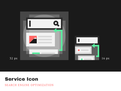 Service Icons - SEO cleandesign minimalistic simple pixelperfect iconography product icons service google seo agrowth