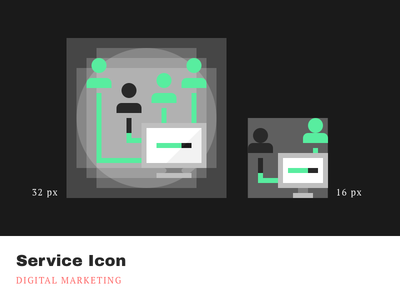Service Icons - Digital marketing marketing digital cleandesign minimalistic simple pixelperfect iconography product icons service agrowth