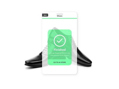 AI Concept - Personal Shopper clothes branding uxdesign uidesign ux ui shopping aiconcept concept fashion shoes ai