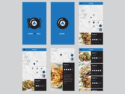 Magic Ate Ball 8ball ui  ux design adobexd xd adobe app