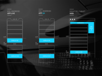 Wireframe for Ad positioning