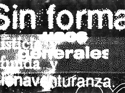 xerox type fun distorted typography messy grunge xerox texture type black experimental