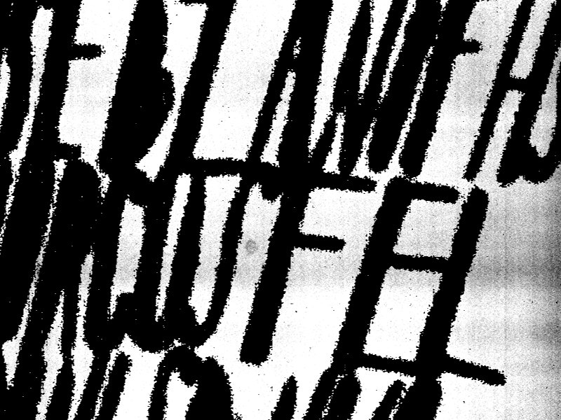 Type Experiment 2 texture grunge grunge font calligraphy handmade xerox white black experimental typography experiment type