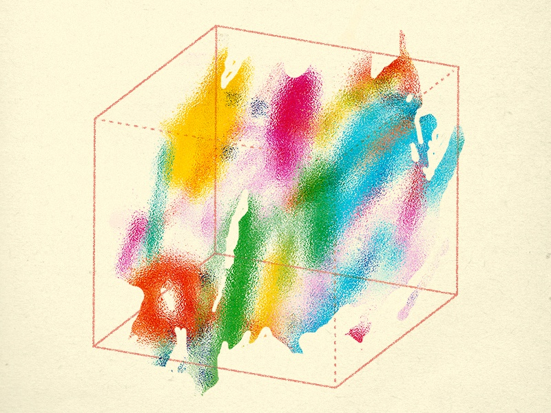 colorful experimental graphic design abstract art colorful illustration abstract geometric
