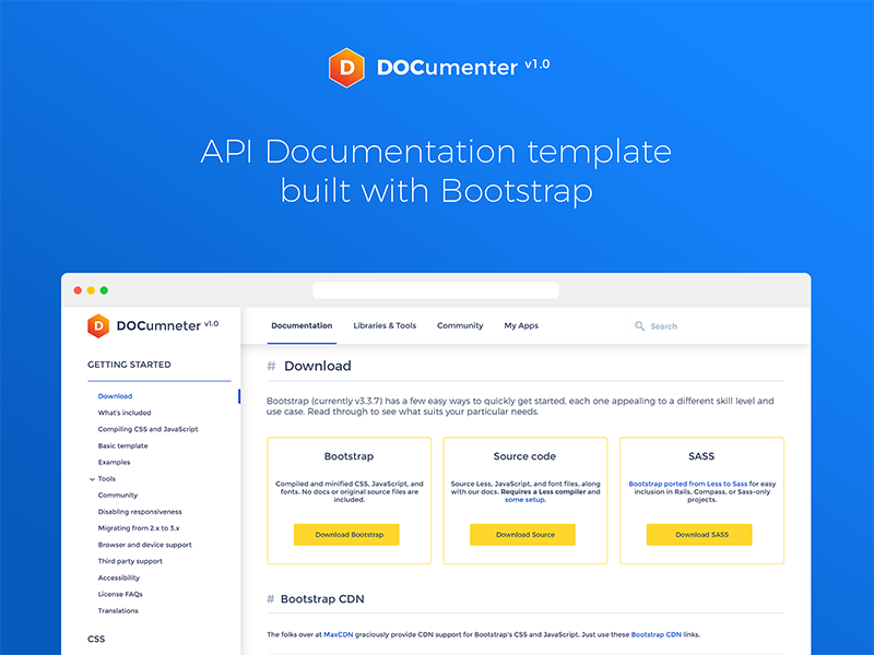 Documenter Api Documentation Template Wip By Akash Bhadange