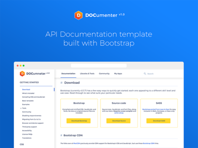 api doc template - documenter api documentation template wip by akash