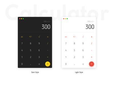 Simple Calculator graphics clean minimalistic minimal user interface app ios app ui calculator