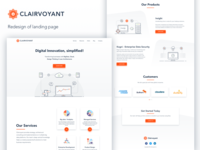 Clairvoyant: Landing Page