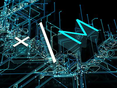 Particle Theory x-particles 3d motion design c4d enahnce