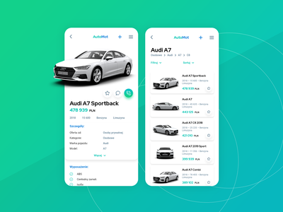 AutoMot Design App
