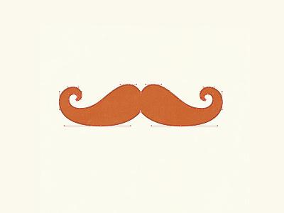 Handlebar Mustache showedges movember mustache handlebars illustration vector