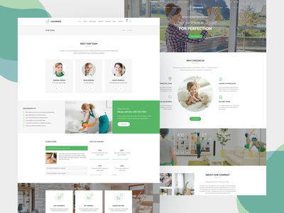 Cleanmate - Cleaning Company WordPress Theme laundry service garden gardener maid cleaning services cleaning company cleaning clean theme wordpress