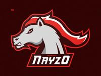 Horse Esport Mascot Logo