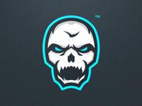 Skull Esport Mascot Logo