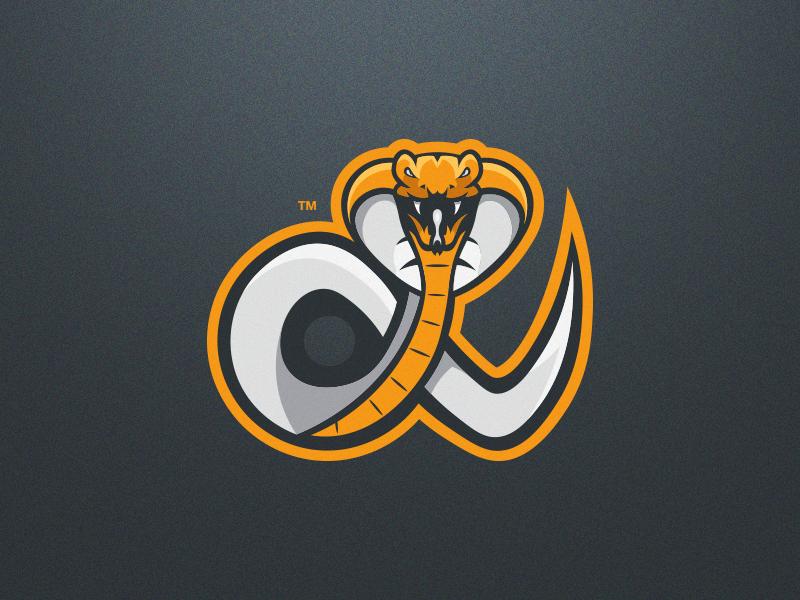 Snake Esport Mascot Logo illustrator esport mark snake logo snake mascot logo snake branding logo mascot logo