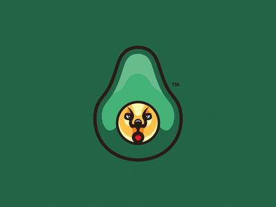Avocado Cat Esport Mascot Logo