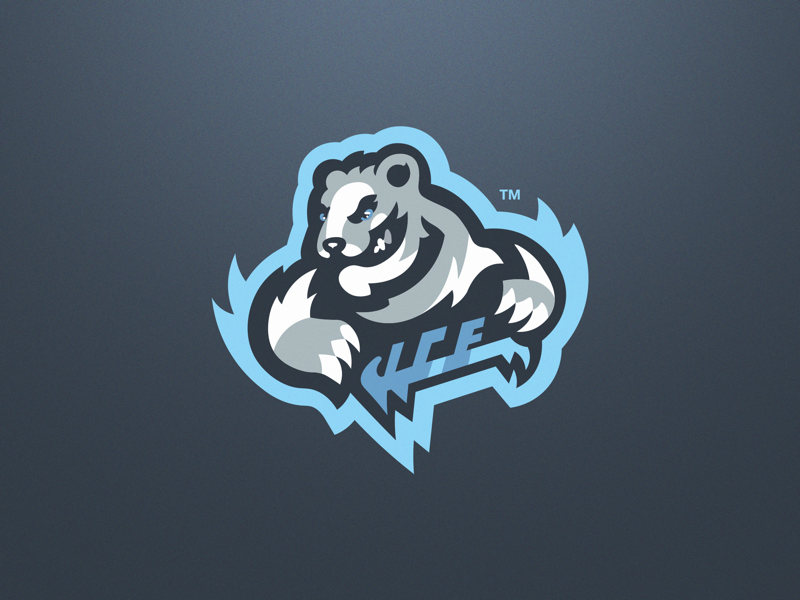 Polar Bear Esport Mascot Logo ice bear esport polar bear mascot logo polar bear logo polar bear logo mascot logo