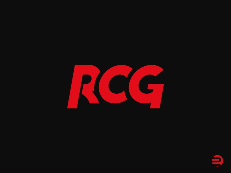 RCG Logo branding symbol mark rcg logo identity logo rcg
