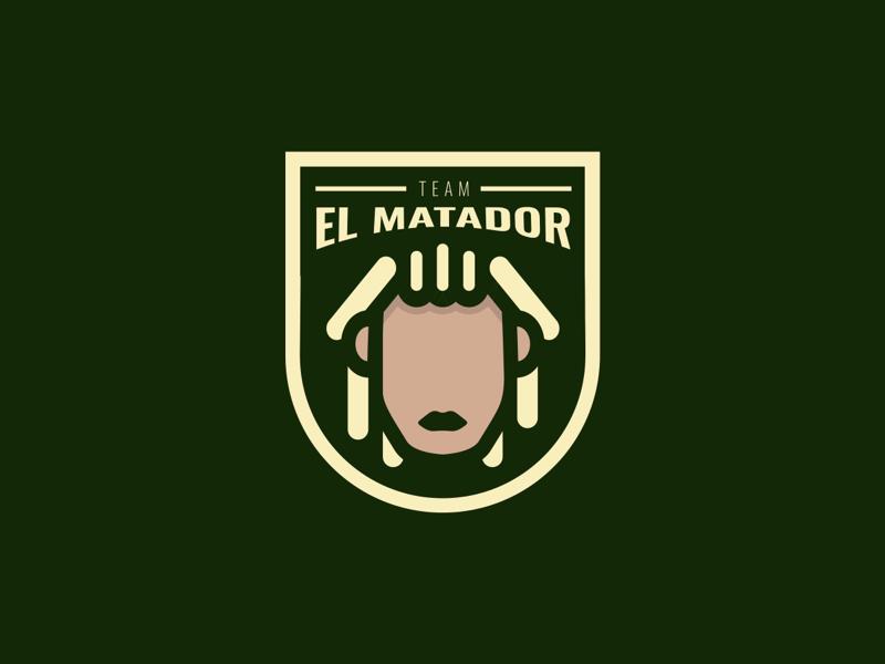 Team El Matador identity sport logo esport mascot logo mark design logo