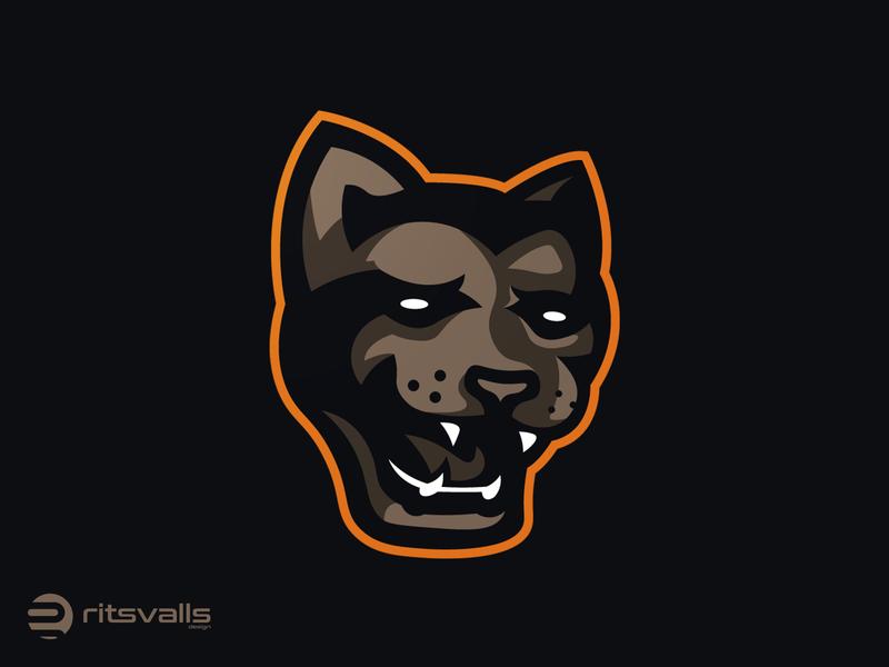 Panther Mascot Logo illustrator panther logo panther mascot logo branding logo identity design mark mascot logo esport