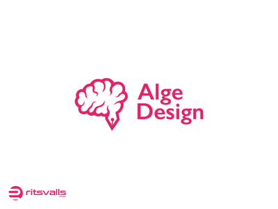 Brain Logo Design icon brain design brain logo design typography identity branding mark design logo brain brain logo