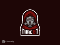 Gas mask Mascot Logo