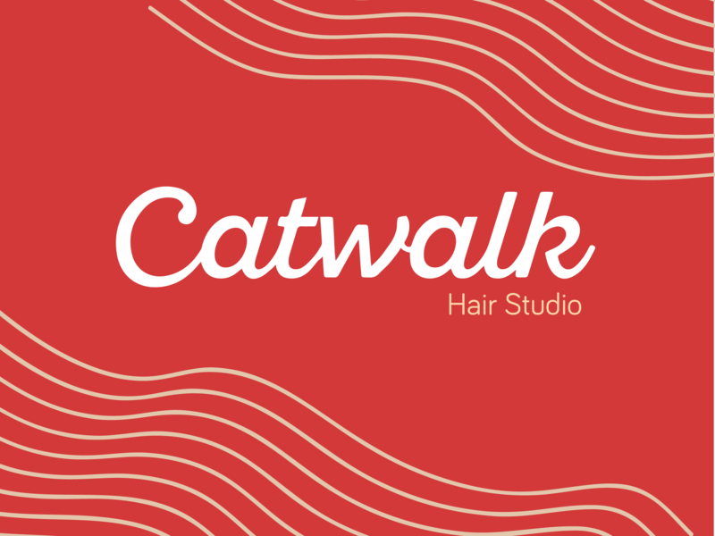 Catwalk photoshop wow pop girly script wave wavy hair salon hair