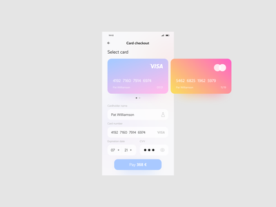 Daily - UI - 002 - Credit Card Checkout