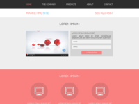 Single Page Multi-Purpose Website