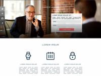 Corporate Single Page Template