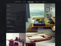 Dark Furniture Website