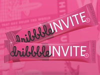 Dribbble Invite Sticks