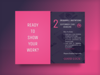 Dribbble Invite - Show Your Work