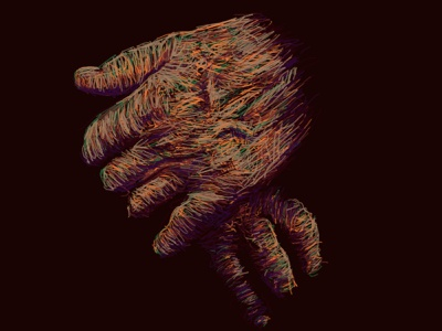 Hands procreateapp procreate ipad pro ipad darkness dark human drawing painting hands