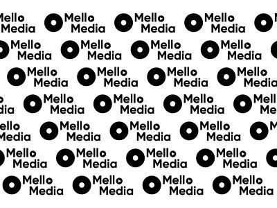 Mello Media Logo hiphop music berlin agency mello media berlin design logo branding
