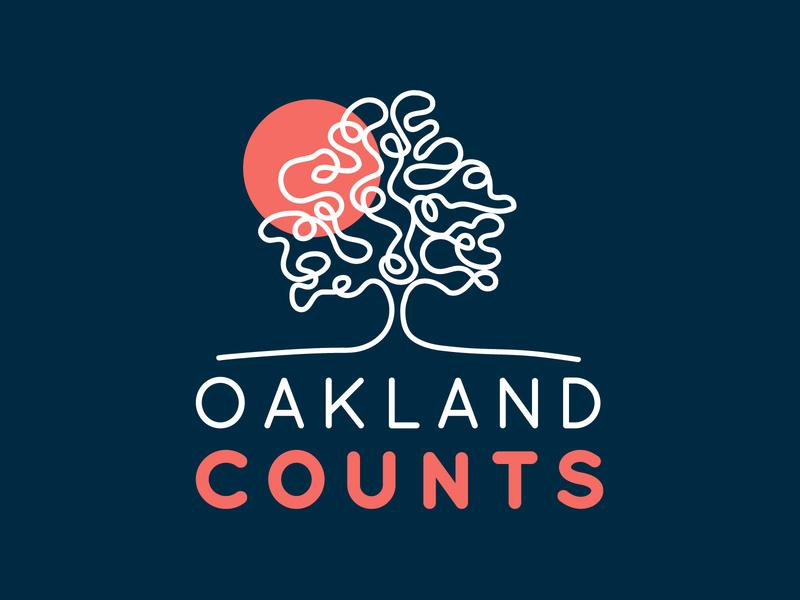 Oakland Counts Branding