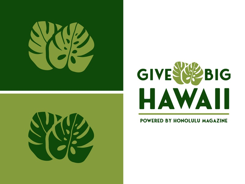 GiveBig Hawaii Branding