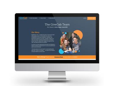 GiveGab Team Page