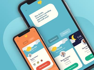 Sniffle Mobile UI soft minimal app web icon flat branding typography app design startup sketch illustration ux ui