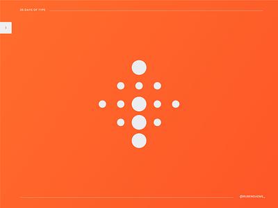 36 days of type: Letter i 36daysoftype logodesign letter i logo letter i i logo color illustrator identity mark brand designer branding design logo