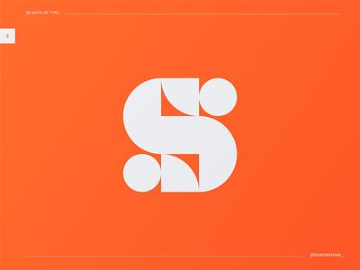 36 days of type: Letter S logo mark s mark letter s letterlogo designing logodesigner mark brand designer branding design logo identity