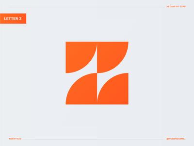 36 days of type: Letter Z 36daysoftype logotype logomark minimal logodesigner concept identity mark brand designer branding design logo