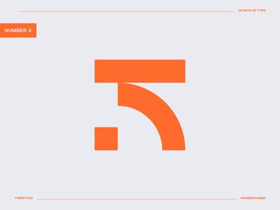 36 days of type: Number 5 5 logo logodesigner illustrator graphic identity mark brand designer branding design logo